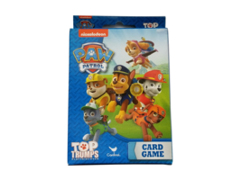 Nickelodeon Paw Patrol Top Trumps Educational Card Game