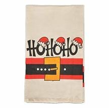 MAGNOLIA LANE COLLECTION HO HO HO SANTA'S  BELT HAND TOWEL  BRAND NEW - $12.99