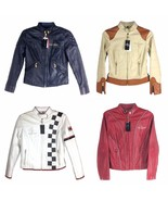 BABY PHAT WOMEN'S LEATHER JACKET ASSORTED - $321.75+