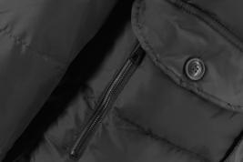 Men's Heavy Weight Warm Winter Coat Puffer Faux Fur Trim Sherpa Lined Jacket image 5