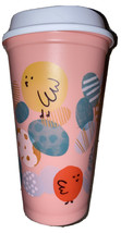 Starbucks Coffee 16 oz Reusable Spring Easter 2020 Pink Hot Cup Chicks E... - $11.40