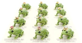 Hagen-Renaker Miniature Ceramic Frog Figurine Birthstone Prince 12 December image 4