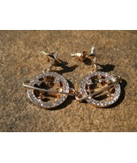 Haunted Solomon's 4th Pentacle of Jupiter for Riches and Wealth Earrings - $33.33