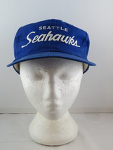 Seattle Seahawks Hat (VTG) - Sports Specialties Twill Script - Adult Sna... - $75.00