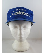 Seattle Seahawks Hat (VTG) - Sports Specialties Twill Script - Adult Sna... - $75.00