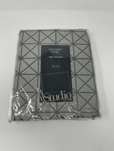 Grommet Panel Curtain 50 X 84 JCP Studio Gunmetal Grey  - $29.65