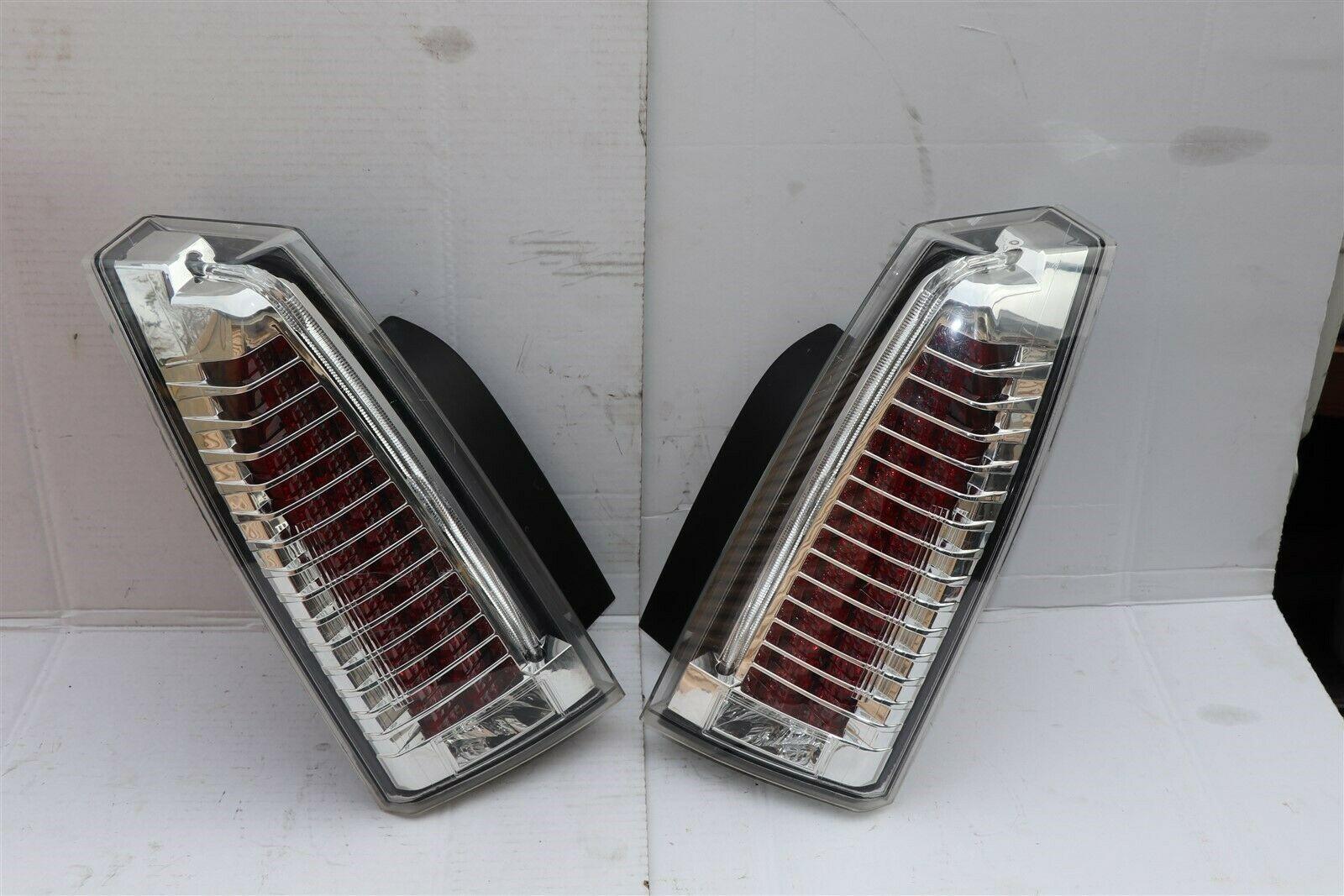 08-13 Cadillac CTS 4 door Sedan Euro LED Rear Tail Light Lamps Set L&R