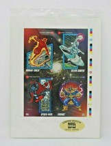 1992 Marvel Universe Series 3 Limited Edition Uncut Promo Sheet  Sealed #/30,000 - $14.86
