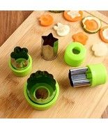 PRO ECO Kitshen Set 9PCS Vegetable Bar Cutter Shapes Home Baking Cookie ... - $14.99