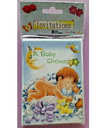 Your Invited A Baby Shower Invitations 8 Cards & Envelopes Boy or Girl D... - $9.55