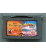 Shrek 2 / Madagascar - Nintendo GameBoy Advance GBA DreamWorks 2 in 1 Ca... - $2.96