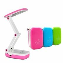 Led Desk Lamp 2 Modes Mini Table 2-Layer Foldable Body Light Student Rea... - $24.99