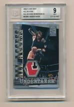 2002 Fleer WWF WWE All Acess Memorabilia Relic Undertaker BGS 9 3 Color ... - $200.00