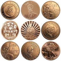 2017 Mini Mintage 1 oz .999 Pure Copper BU Round / Challenge Coin - 9 De... - $9.65