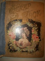 Antique Victorian Scrapbook 1898 Newspaper Clippings Franklin Delano Roo... - $150.00
