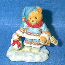 "Cherished Teddies - Ingrid ""Bundled-Up With Warm Wishes"" 617237 - $9.89"