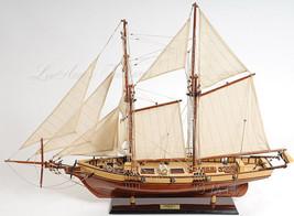 "Harvey Baltimore Clipper Tall Ship Galveston Wooden Model Boat 35"" New i... - $354.95"