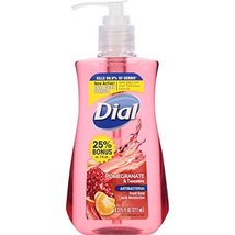 Dial 02795 Antimicrobial Liquid Soap, 7 1/2 oz Pump Bottle, Pomegranate ... - $7.91