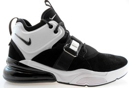 NIKE AIR FORCE 270 MEN'S BLACK/WHITE BASKETBALL SHOES, AH6772-006 - $119.99