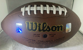 MANNING & ELWAY / AUTOGRAPHED WILSON BRAND FULL SIZE NFL FOOTBALL / PLAYER HOLOS image 5