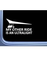 "Ultralight My Other Ride 8"" sticker J783 decal sticker plane pilot - $6.63"