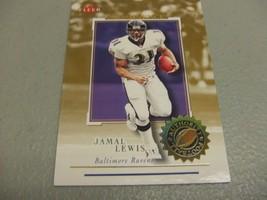 2001 Fleer Authority Prominence #'d 20/75 Jamal Lewis -Baltimore Ravens- - $9.89