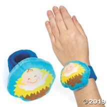 Plush Baby Jesus Slap Bracelets - $52.75