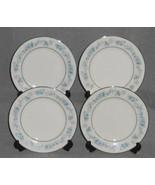 Set (4) Noritake Ivory China SPLENDOR PATTERN Dessert/B&B Plates JAPAN - $29.69