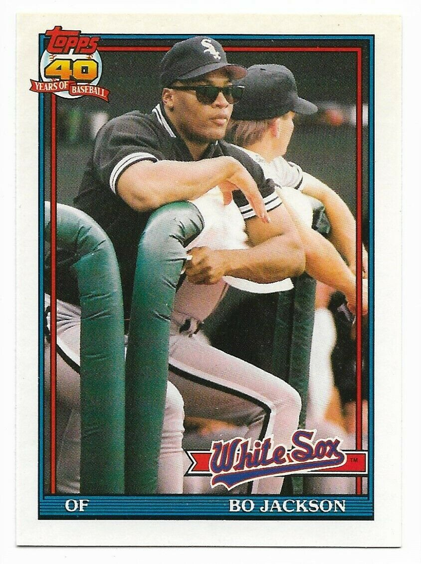 Primary image for 1991 Topps Traded #58T Bo Jackson,  Chicago White Sox