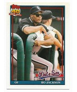 1991 Topps Traded #58T Bo Jackson,  Chicago White Sox - $1.70