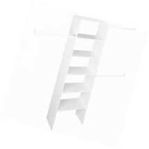 """Vertical Closet Insert Shelf Organizer Home Storage Bedroom Hall Garage 24"""" - $1.178,23 MXN"""