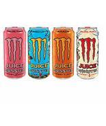 Monster Energy Juice - 4 Flavor Variety Pack (8) - $27.43