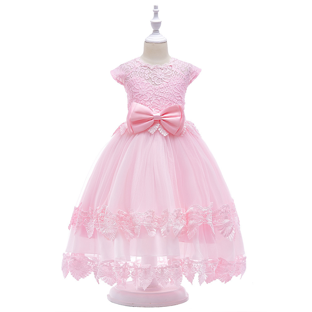 Primary image for Girl's Elegant Lace Bowknot Princess Party Dress