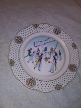 Farm Dance H. Hankook Plate Fine Bone China Natural Bone Ash England Original Bo image 1