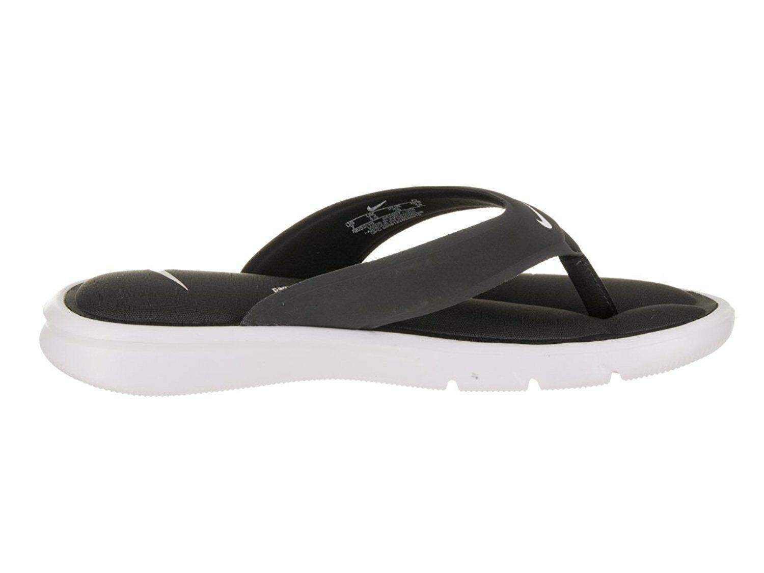 Women's Nike Ultra Comfort Thong Sandals, 882697 004 Size 6 Anthracite/White image 5