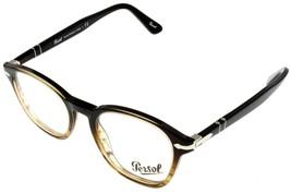 Persol Eyeglasses Frame Men Oval Brown PO3122V 1026 - $157.41