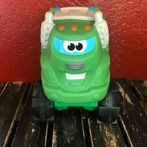 Tonka Chuck Friends Garbage Truck Soft Squishy Green Big Toy Sound Noise... - $22.76