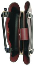 Michael Kors Cartella Top Manico Merlot pelle Rossa Kimberly Bag image 6