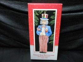"Hallmark Keepsake ""Uncle Sam Nutcracker"" 1988 Ornament NEW - $5.45"