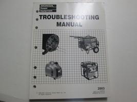 2003 Honda Generators Troubleshooting Shop Manual Factory OEM Book Used 03 - $22.14