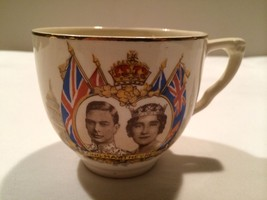 "Vintage J&G Meakin England ""Queen Elizabeth & King George"" Commemoration... - £19.93 GBP"