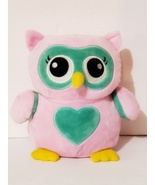 Pink and Green Owl Soft Coin/Money Bank, New - $7.88