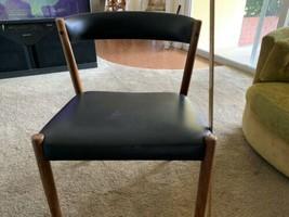 danish dyrlund l arm chairs denmark vodder lounge  - $391.05
