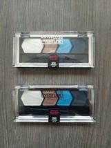 SET OF 2-Maybelline Eyestudio Eyeshadow Quad - #600 Striking Blue - $11.99