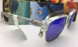 Polarized MAUI JIM Sunglasses KAWIKA MJ 257-05CR Crystal Frames with Blue Hawaii image 4