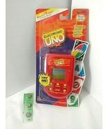 NEW Sealed UNO Electronic Handheld Travel Game Mattel  2002 Incl New Bat... - $37.57