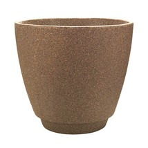 """Metro Poly-Resin Planter Granite Brown Durable Construction 20"""" Inch Dia... - $55.64 CAD"""