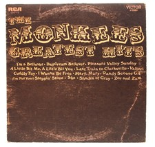 The Monkees Greatest Hits LP Vinyl Album Record RCA COS-115 - £6.10 GBP