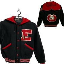 Vintage Butwin The Champion of Jacket Eastbrook The Spirit Letterman siz... - $54.70
