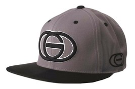 Gold Wheels Skateboarding Silver Grey Black Classic Logo Snapback Baseball Hat image 2